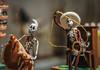 Rodeo (thisbrokenwheel) Tags: balboapark sandiego timken cowboy diadelosmuertos model muertos museum skeleton toy vaquero 50mm