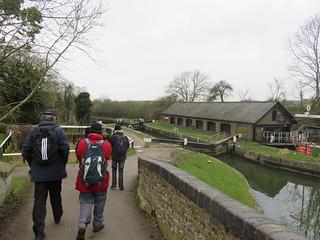 UK - Hertfordshire - Near Marsworth - Walking along Grand Union Canal