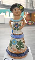 Oaxaca Clay Woman Mexico Dolores Porres (Teyacapan) Tags: crafts folkart museum oaxaca mexico atzompa mujer woman doloresporres coyotepec meapo