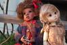 Life is Difficult (Emily1957) Tags: yanni gracie kayewiggsgracie kayewiggsyani kayewiggs bjd aboriginal resin light naturallight nikond40 nikon availablelight kitlens jacks toys toy dolls doll australianaborigine