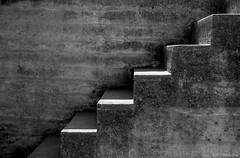 Abstract #9- Nude Descending a Staircase Again ©2018 Steven Karp (kartofish) Tags: california sanfrancisco bakerbeach abstract fujifilm xt2 monochrome blackandwhite steps stairs abandoned minimalist texture contrast gunemplacement gunbattery batterychamberlin fortwinfieldscott