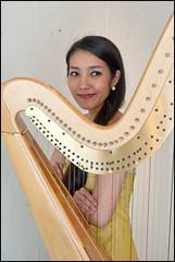 Beautiful Harpist (Peter Bellars) Tags: d700 harp harpist ailing 2017 nikon