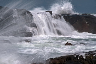 Wild waves on the Sunshine Coast.