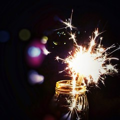 May 2018 be full of joy! (Get inspired Photography) Tags: night fireworks hope happiness celebrate bright sparkles light newyear