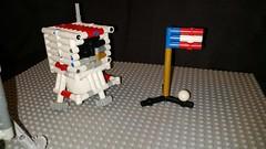 Big Al (Daddy Ogre) Tags: lego technic moon cubesat lander apollo alanshepard golf flag