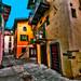 Walking around alleys