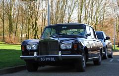 1966 Rolls-Royce Silver Shadow 6.2 V8 (rvandermaar) Tags: 1966 rollsroyce silver shadow 62 v8 rollsroycesilvershadow silvershadow sidecode2 8399bl