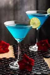 Blue Lagoon (Abhay Patny Photography) Tags: glass lemon refreshing cold beverage bar vodka summer cocktail drink lagoon blue