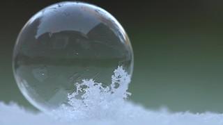 Freezing bubble...