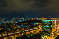 Medellín noroccidente (carlosbenju) Tags: landscape paisaje city ciudad noche night luces lights largaexposicion longexpusure