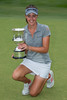 Meghan Maclaren of England with the trophy (Ladies European Tour) Tags: maclarenmeghaneng coffsharbour newsouthwales australia aus