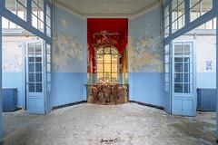 Thermes bleus © (MyMortiis) Tags: thermes bleus abandonné abandon patrimoine urbex urban exploration abandoned france oublié