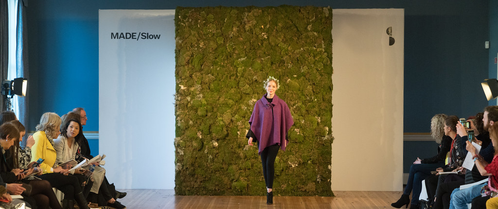 MADE-Slow PRESENTATION OF QUALITY IRISH FASHION DESIGN - STUDIO DONEGAL [FASHION SHOW AT THE RDS JANUARY 2018]-136236