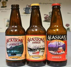Flickr Friday Three's a Crowd (rabidscottsman) Tags: scotthendersonphotography beer beerbottle alaska alaskanbrewing bottles flickrfriday threesacrowd labels friday fishingboat day26