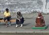 North Korean women sit on a bench near a trash bin, Pyongan Province, Pyongyang, North Korea (Eric Lafforgue) Tags: adultsonly animalrepresentation asia bear bin clean cleanliness colourimage communism day dictatorship dprk dprk9996 garbage horizontal kitsch northkorea northkorean outdoors people pyongyang statue trash traveldestinations twopeople women womenonly pyonganprovince 北朝鮮 북한 朝鮮民主主義人民共和国 조선 coreadelnorte coréedunord coréiadonorte coreiadonorte 조선민주주의인민공화국 เกาหลีเหนือ קוריאההצפונית koreapółnocna koreautara kuzeykore nordkorea північнакорея севернакореја севернакорея severníkorea βόρειακορέα