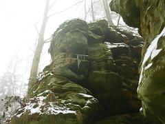 Felslandschaft (Jörg Paul Kaspari) Tags: irrel ernzen naturpark südeifel eifel winter fels felsen rock