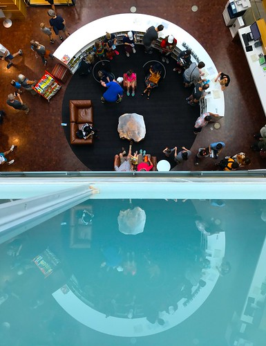 Austin's New Central Library: From the 3rd Floor