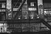 Plant Pots (justingreen19) Tags: america citylife escape exit mercerstreet ny nyc newyork newyorkcity soho unitedstates architecture brickwork buckled castiron facade fireescape justingreen19 ladder lowermanhattan manhattan mono neighborhood plantpots streetphotography urban urbanabstract urbanlines urbannature usa windows