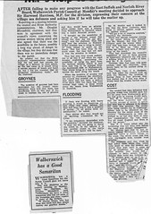 Browton History Vol 1 - cuttings (Southwold Historical Society) Tags: southwoldmuseum walberswick jessiebrowton cuttings newspaper
