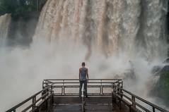 Iguazú Falls (Richard Here) Tags: argentina brasil paraguay cataratas del iguazú falls viajeros travel traveler power portrait
