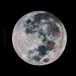 Rare Super Blue Blood Moon