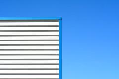 Facade with a blue edge (Jan van der Wolf) Tags: map174212ve blue lines lijnen gevel edge facade building minimalism minimalistic architecture simple simpel