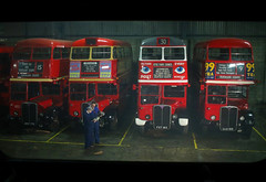 'Picture Post' (andrew_@oxford) Tags: london transport bus garage purfleet depot 1940s 1950s 1960s reenactment reenactors ensign buses timeline events