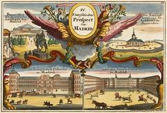 Gabriel Bodenehr - IV Unterschiedene Prospect von Madrid (c.1700) (Pau NG) Tags: gabrielbodenehr art maps engravings madrid