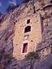 Cliff of the hermitage caves no. 2 (Elvis L.) Tags: marjan hill split hermitage rock stone cliff cave wall window sky stjerome stcyriacus dalmatia croatia tree vegetation plant inscription coatofarms