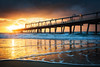 Sunrise At The Spit || GOLD COAST || AUSTRALIA (rhyspope) Tags: australia aussie qld queensland spit gold coast sunrise wharf jetty pier waves sea ocean surfers paradise sky cloud water marine rhys pope rhyspope canon 5d mkii morning travel sun light color colour reflection reflect