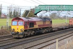 66200 @ Chorlton Lane Nr Crewe (uksean13) Tags: 66200 ews dbs dbschenker cheshire crewe chorltonlane 760d ef70200mmf4lusm canon railway train freight cargo
