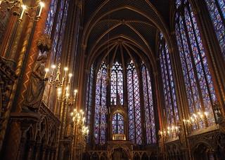 Sainte-Chapelle, Upper Chapel