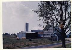 Shaw barn (bumanns) Tags: ohio shaw charlotte montral 1960 barn farm