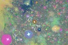 JLF0236 One Million of Glittering Jewels in White (jlfractal) Tags: texture glitter plastic jewel fractal fractalart julofi apophysis