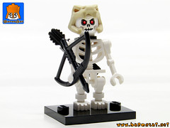 SKELETON ARMY 10 (baronsat) Tags: skeleton army lego minifig custom combo mix warriors battle undead magic game war knight tabletop