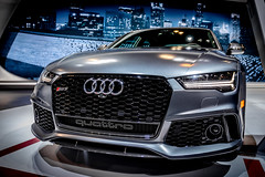 Chicago Auto Show 2018 (pauliefred) Tags: audi auto car chicagoautoshow show chicago illinois unitedstates grille rs rs7 audirs7