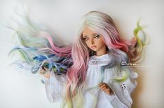 DSC_0067 (sonya_wig) Tags: fairytreewig bjdwig minifeewig bjd bjdminifee minifeemirwen handmade doll bjddoll dollphoto fairyland fairylandminifee minifee mirwen coloringhair bjdphotography wigspringmood