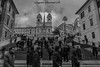 Piazza di Spagna (baridue) Tags: roma capitale streetphoto streetphotography sky spagna storia scalinate biancoenero bn