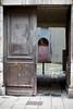 The streets of... Grenoble #41 (richardtostain) Tags: street rue wooden gate courtyard porte sony a7ii minolta mc 58mm f12 grenoble
