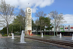 Hastings Clock Tower (Neil Pulling) Tags: newzealand hastings hawkesbay artdeco hastingsnewzealand rails railway