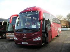 Radley, Barton-upon-Humber. YR16 RAD (KK70088) Tags: bus coachoperator touristcoach radley scania irizar yr16rad