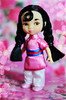 Mulan (Lindi Dragon) Tags: doll disney disneyprincess disneystore mulan animators mini mushu little
