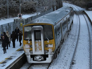 A 2600 at Littleisland in the snow.