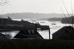 Saltash, Cornwall (Paul Emma) Tags: uk england cornwall saltash railway railroad rivertamar bridge river