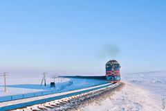 Locomotive 2TE116UM ... by N.Batkhurel - Mongolia. 1/11/2018