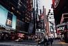 Times Square shining as usual (fotoanshi) Tags: newyork trumptower radiocity timessquare cab cabs