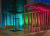 FLUX LIGHTING / Town centre, Paray-le-Monial (France) (FLUX-LIGHTING) Tags: rgb inground luminaire led dmx architecture colour