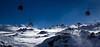 Skiing, up the mountain (Beppe Rijs) Tags: austria österreich alps alpen berg mountain snow schnee eis ice glacier gletscher ski blue frost winter white icy wind gondola
