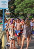 Australia Day 2018 - Manly Cove (2) (geemuses) Tags: australiaday2018 invasionday manly nsw newsouthwales australia party celebrations water people candid street sea ocean sydneyharbour girls women men bikini swimsuit po passengership cruiseliner landscape scenic scenery light beautifullight color colour colours manlycove