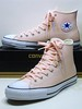 CTAS Pro Suede Backed Canvas - Vapor Pink, Glow Pink & Natural White Hi 155514C (hadley78) Tags: chucks cons converse ct collection chucktaylors chuck taylor taylors tops top thatconverseguy guinness worldrecord world record ripleys joshuamueller joshua mueller ctas pro suede backed canvas